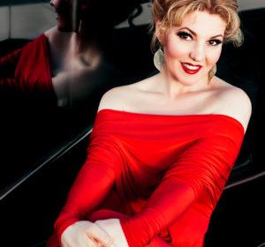 3/4  Oxana Shilova, soprano; photo: Tanya Grishanova